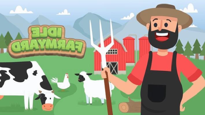 Çiftçilik simülatörü Idle Farmyard, 10 Nisan'da Android ve iOS için yayınlanacak