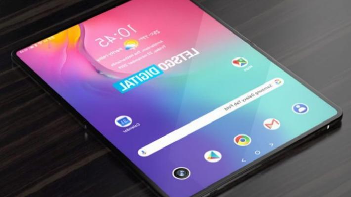 Samsung  katlanabilir tablet modeli üzerinde çalışıyor